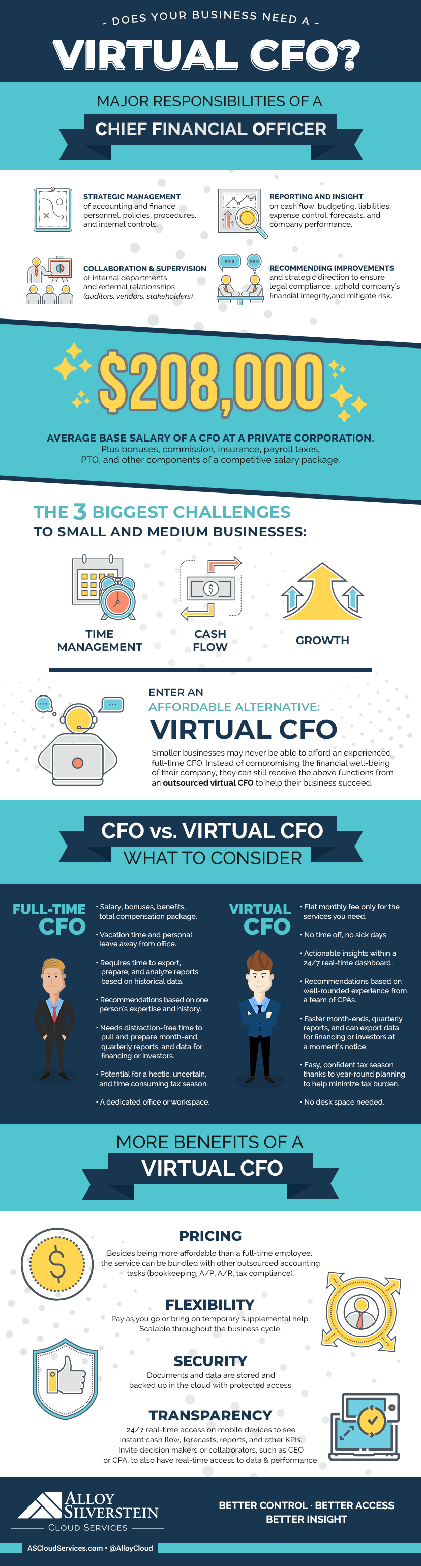 What is a Virtual CFO infographic